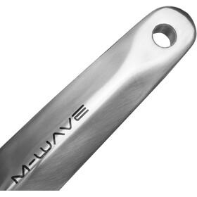 M-Wave Crankset 1-vaihteinen 38 hammasta Alumiini/Teräs, silver